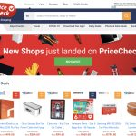 PriceCheck Homepage